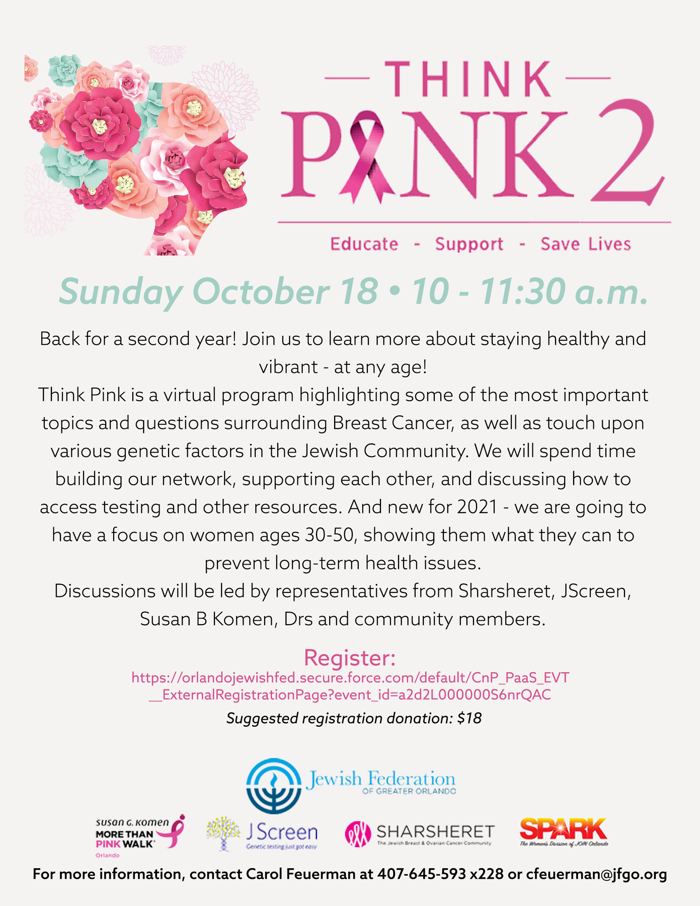 Think Pink 2 Flyer